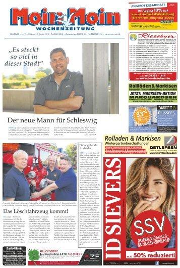 MoinMoin Schleswig 31 2018