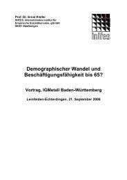 Referat Prof. Dr. Ernst Kistler - Tatort Betrieb