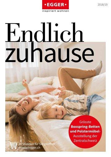 Katalog 2018/19 Möbel EGGER