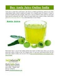 Buy Amla Juice Online in India