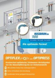 Druckverlust-optimiertes Trinkwasser ... - R. Nussbaum AG
