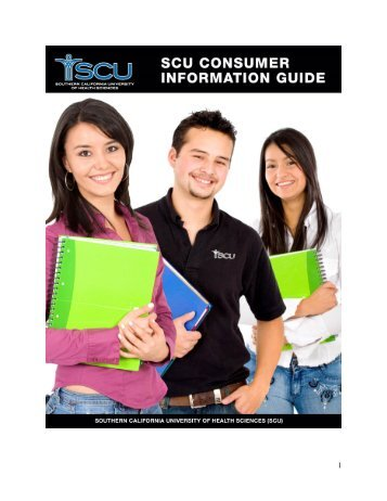 Southern California University of Health Sciences - Consumer Information Guide