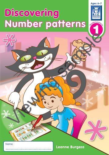 PR-6100UK Discovering Number Patterns 1