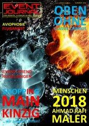 EVENT JOURNAL - SOMMER 2018