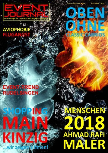EVENT JOURNAL - SOMMER 2018