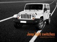 Order Best Brand Jeep Light Switches Online