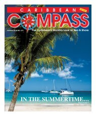 Caribbean Compass Yachting Magazine - August 2018