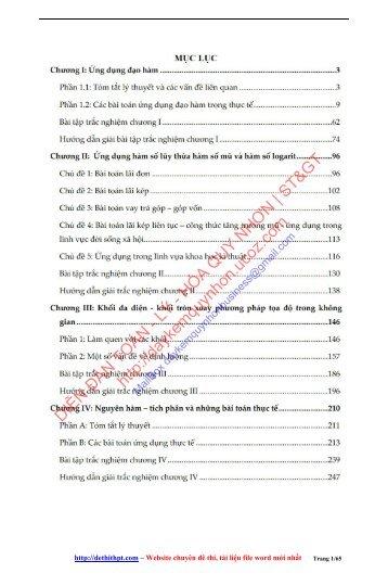 Rèn luyện kỹ năng giải quyết bài toán trắc nghiệm thực tế - Hứa Lâm Phong (287 trang)