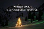 Adventprogramm 2018 fix und fertig