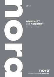 norament® and noraplan® - RIBA Product Selector