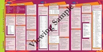 PR-6801UK Essential Study Guide - Grammar