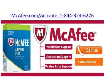 McAfee LifeSafe  | 1-844-324-6276 | Mcafee.comActivate