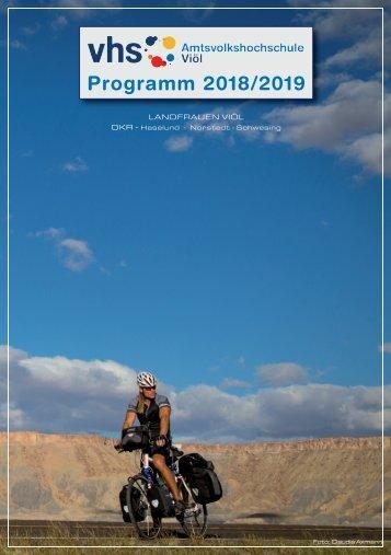 AVHS-Programmheft 2018-2019