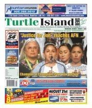 Turtle Island News - 08/01/2018