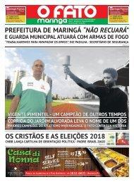008 - O FATO MARINGÁ - AGOSTO 2018 - NÚMERO 8 (MGÁ 01)