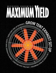 Maximum Yield USA August 2017