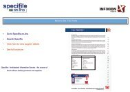 Norcros SA - TAL Profix - Specifile on-line