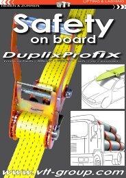 Lashing Belts Duplix - VTT-Group