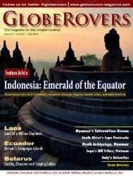 Globerovers Magazine, July 2018