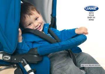 Since the car seat on every Jané is - Johnston Prams & Buggies Ltd