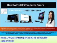 Instantaneous Solution HP Computer Support Phone Number