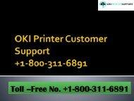 OKI Printer-Customer-Support