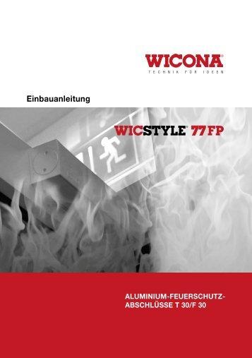 WICSTYLE 77FP Einbauanleitung