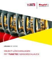 Objekt-Löschanlagen mit TubeTec-Sensorschlauch