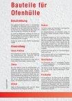 Bauteile für Ofenhülle - Rath - Seite 2
