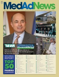 RepoRt TOP 50 PHARMA - Teva Pharmaceutical Industries LTD