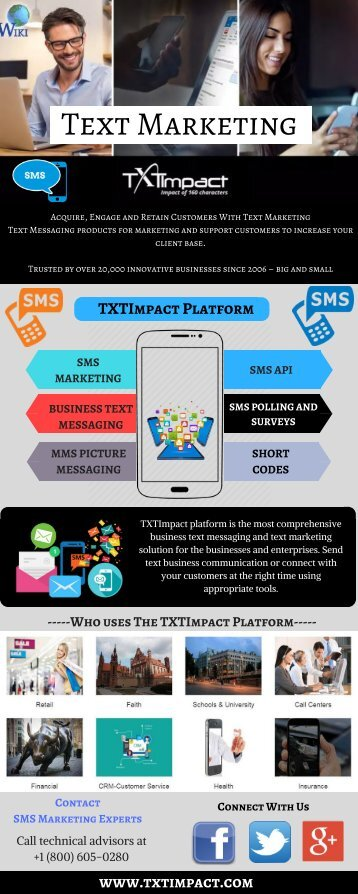 Magnify Business With Text Message Marketing | TXT Impact