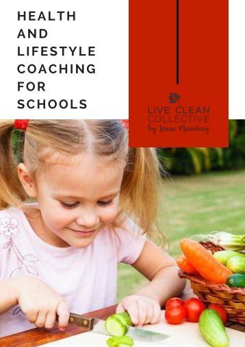 Health Coaching for Schools 2018