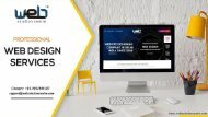 Excellent Web Designing Service for building a great future of your start-up!