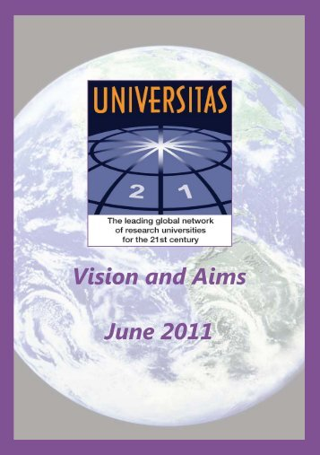 Vision and Aims June 2011 - Universitas 21