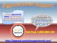 Take Support To Solve Bigpond Email Support Error| 1-800-980-183