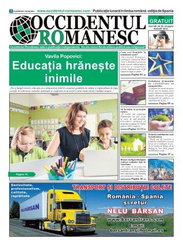 Occidentul romanesc nr 90 august 2018