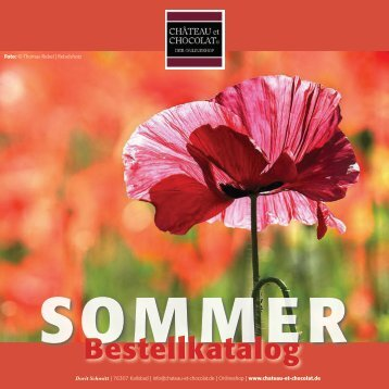 SOMMER bei CHATEAU et CHOCOLAT