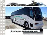 Creative Party Bus Decoration Ideas