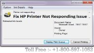 Fix HP Printer Not Responding Issue