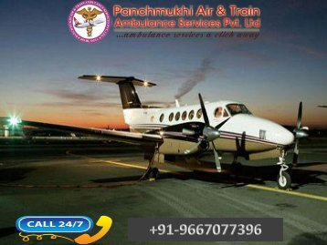 Get the Trusted Charter Air Ambulance Service in Kolkata