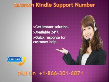 Amazon kindle support number