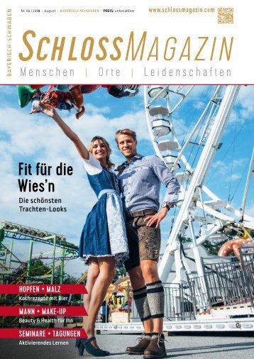 SchlossMagazin Bayerisch-Schwaben August 2018