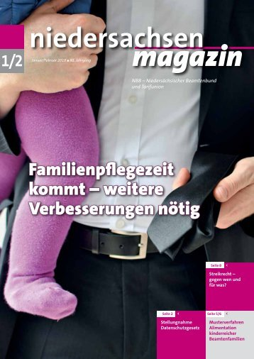Niedersachsen Magazin Januar-Februar 2018