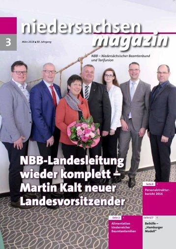 Niedersachsen Magazin März 2018
