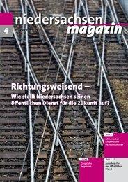 Niedersachsen Magazin April 2018