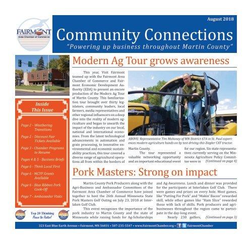 Chamber Newsletter - August 2018 OLD