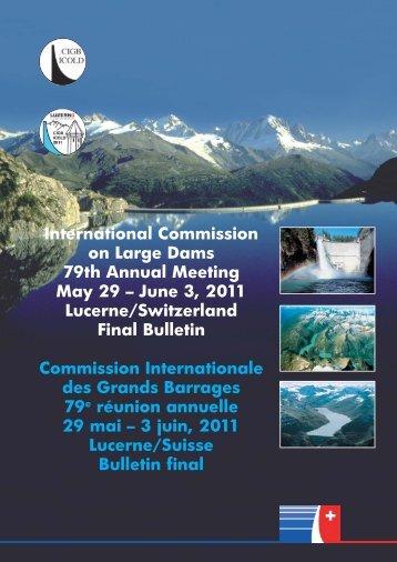 June 3, 2011 Lucerne/Switzerland Final Bulletin Commission