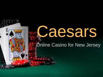 Caesars Online Casino for New Jersey