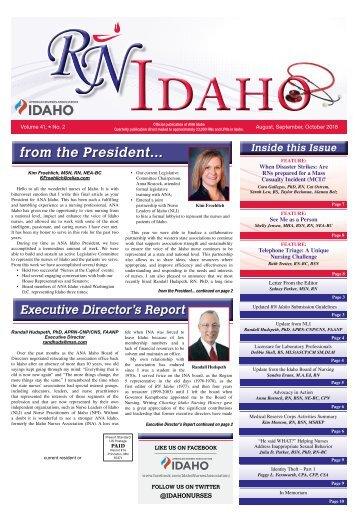 RN Idaho - August 2018