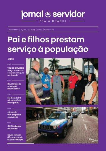 Jornal do Servidor - Praia Grande | Ed. 3 | Agosto 2018